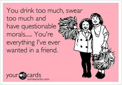 I swear this is me and my best friend. haha