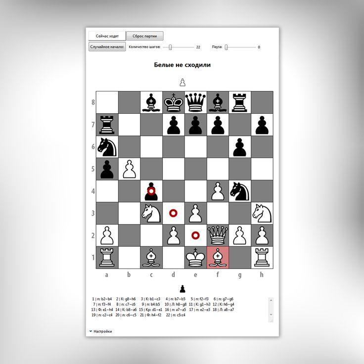 Шахматы в Mathematica