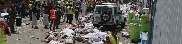 Tumulto mata 717 na Arábia Saudita (Tumulto mata 717 na Arábia Saudita (  AP Foto))