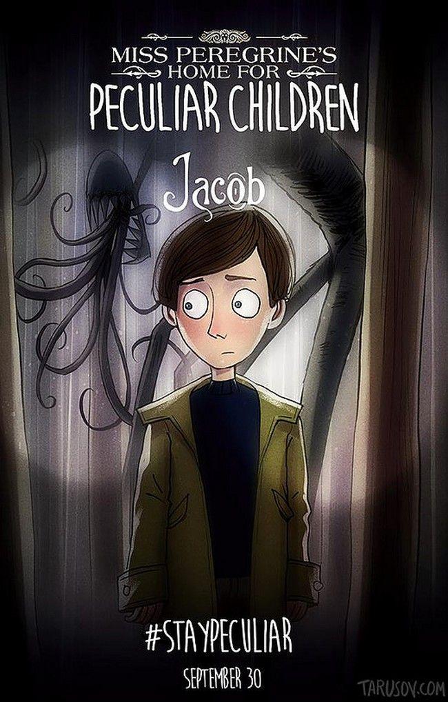 Miss Peregrine de Tim Burton par Andrew Tarusov l Jacob