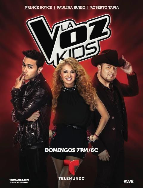 La voz kids Domingo/Sunday  6/7 pm
