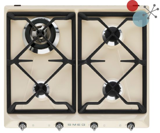 Victoria retro 60cm hob | Smeg | Girl About Tech