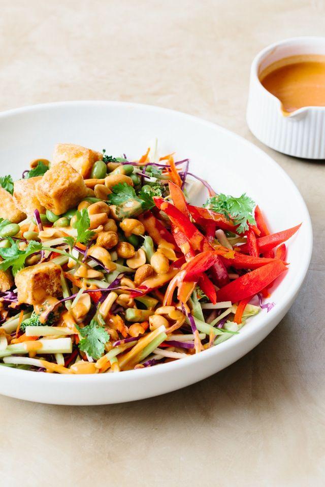 Recipe: Tofu and Broccoli Salad with Peanut Butter Dressing — Sunday Night Salads   The Kitchn
