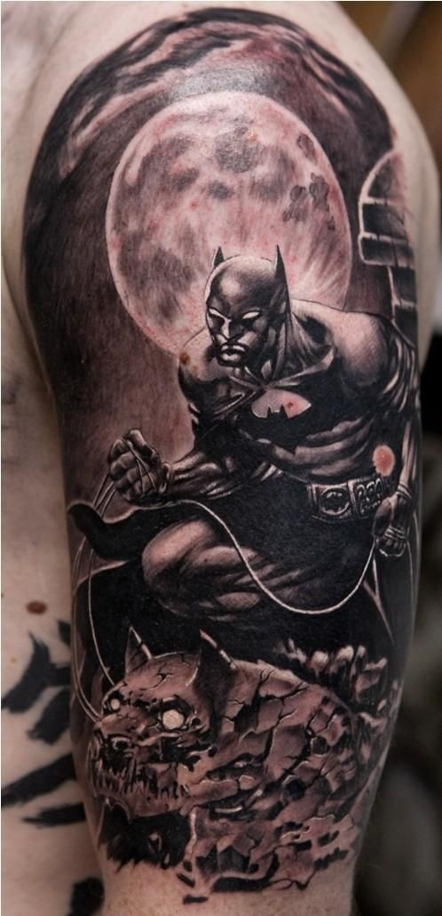 Top Superhero Tattoos: Who is Really the Greatest When It Comes to Ink? - Tattoos