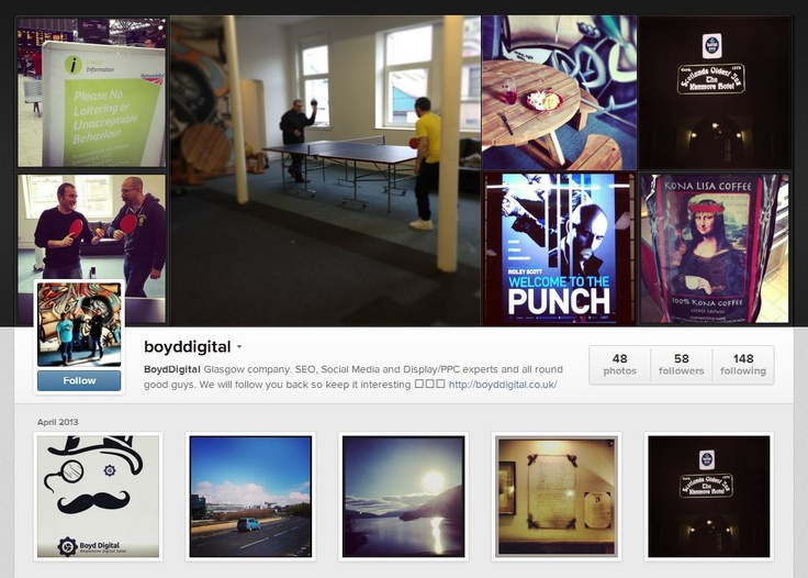 Boyd Digital Instagram