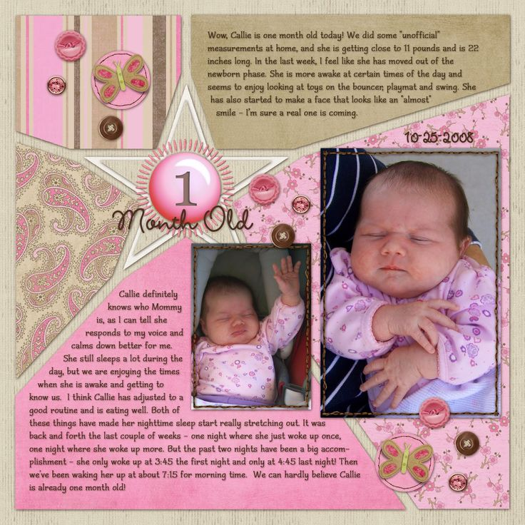baby boy scrapbook page ideas | Ideas for Scrapbookers: Reader's Pages + Happy National Scrapbook Day ...