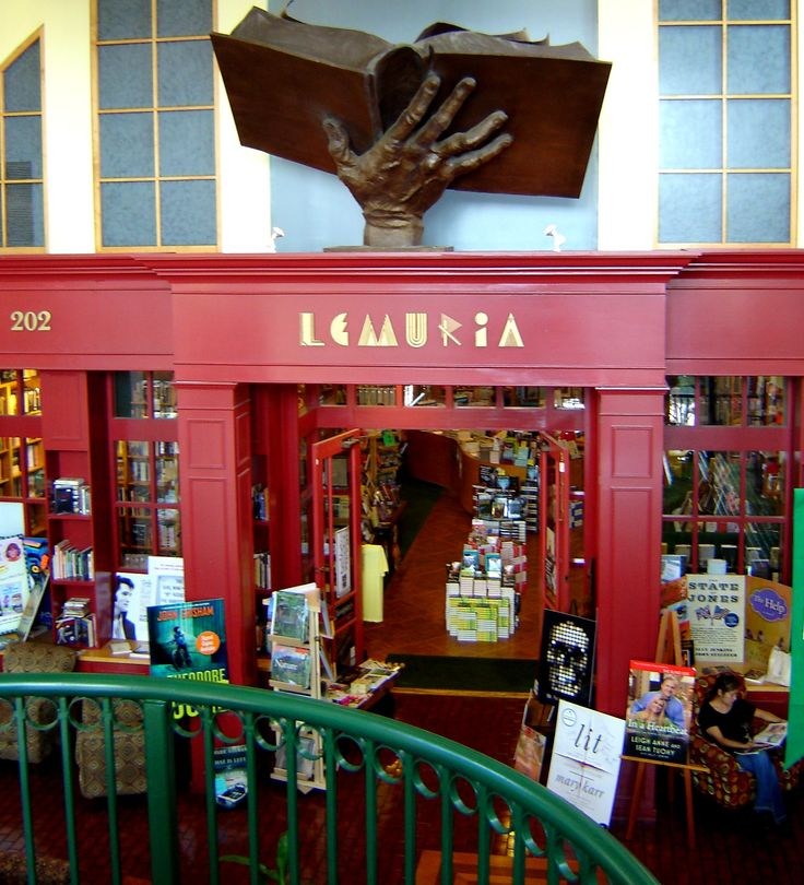 One of the top 5 independent bookstores in the country, Lemuria is Heaven on Earth for book lovers.  I am a very lucky girl to have worked there for 6 years.  If you're ever in Jackson, Mississippi, it is a definite must see but make sure you allow yourself at least a good hour or 2 to savor and enjoy.