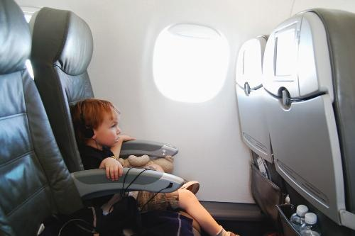 Book early to ensure your airplane seats are together. - 10 Ways to Survive Flying With Kids Slideshow at Frommer's