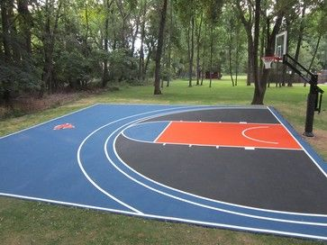 Image Detail For  Landscape Basketball Court Design, Pictures, Remodel,  Decor And Ideas · Backyard Basketball CourtBasketball HoopCourt ...