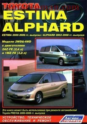 TOYOTA ALPHARD 2002-2008 / ESTIMA (2000-2006) руководство по ремонту