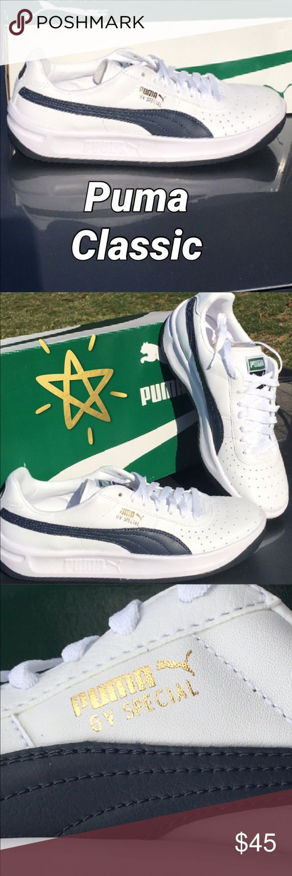 New Puma Sneakers for Him. Puma Sneakers for men....It's an update to a classic. 👌👍😊.   ***They run small so go half size up.**** Puma Shoes Sneakers