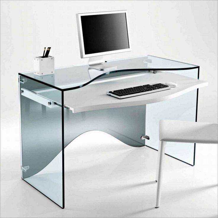 Acrylic Office Computer Desk