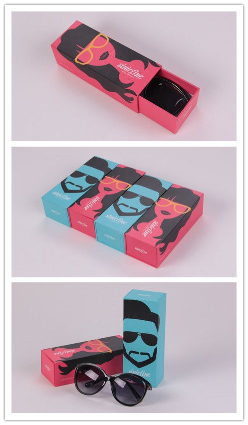 The couple box is for sunglasses, it is fashionable and trendy. The best choice for youth...   #packaging #design #sinicline