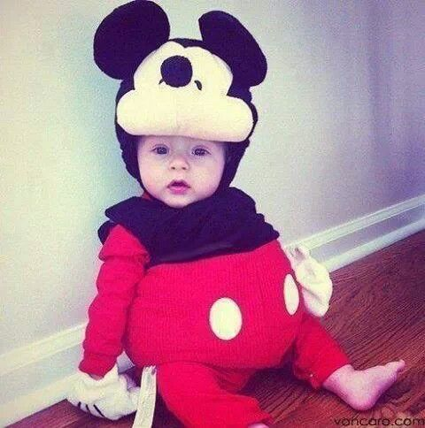 find this pin and more on for my baby kai - Infant Mickey Mouse Halloween Costume