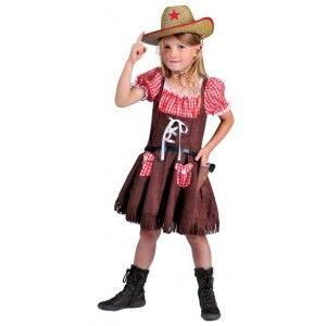Déguisement cowgirl cowboy enfant, costume cowboy fille avec blouse vichy, carnaval, anniversaire, fêtes.