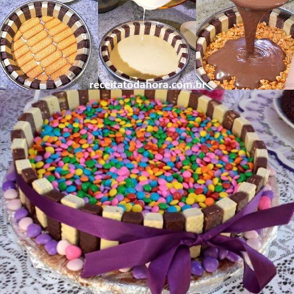 torta de bis com mms12