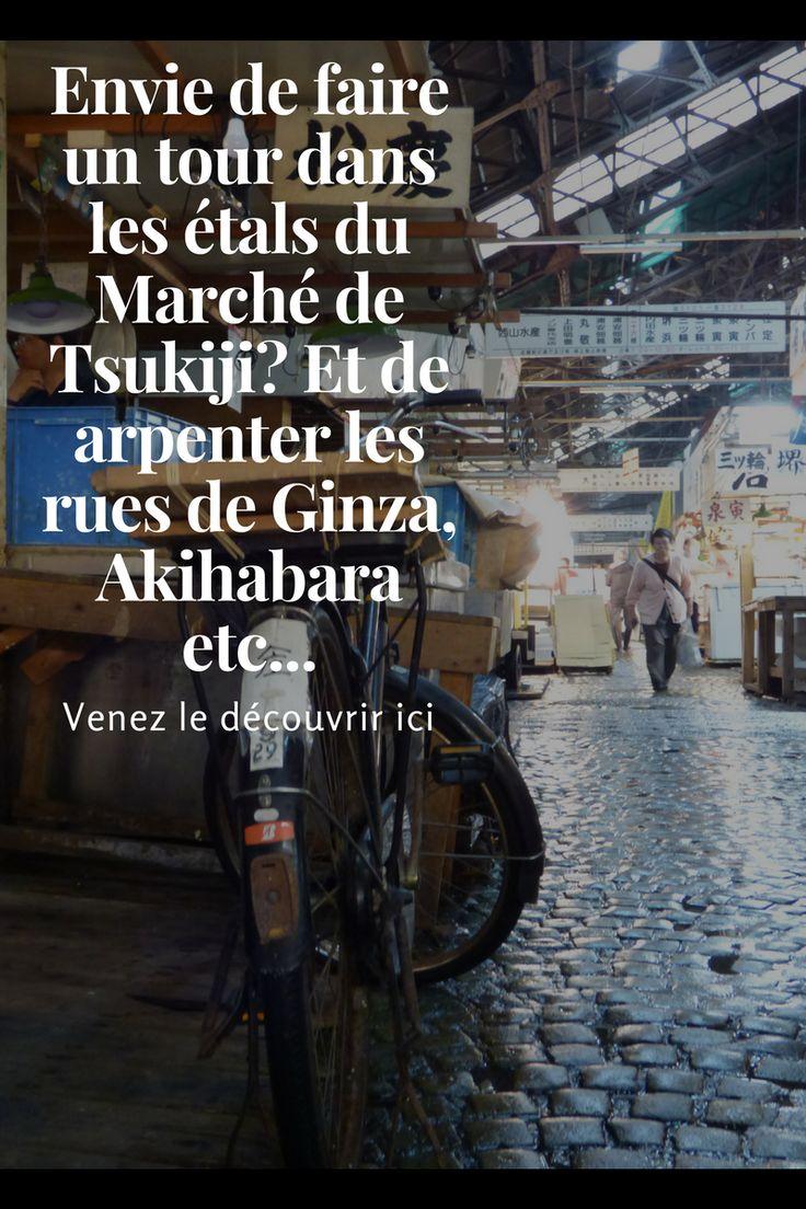 Il n'est plus nécessaire de présenter Tsukiji et son fameux marché mais venez vous impregner de son atmosphère si particulière, y voir ses spécialités et ressentez ce monde si spécial qui vit sous vos yeux.  Puis arpentez les quartiers de Ginza, Roppongi ou encore Akihabara et découvrez ses secrets comme le théatre Kabuki ou le bar à hérisson, so cut :-)