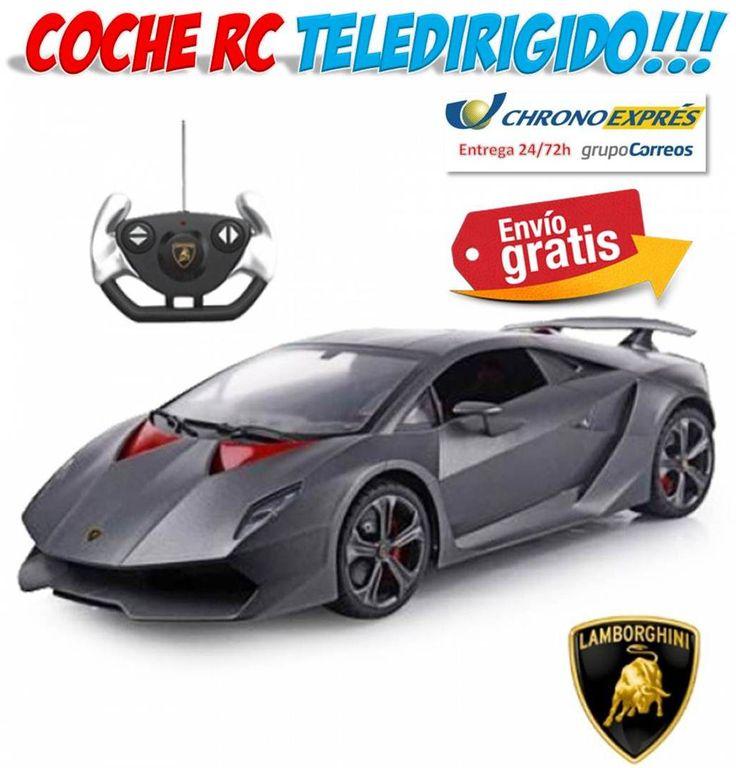 #juguetes #tienda #ofertas #descuentos #radiocontrol #teledirigidos #RC #yougamebay Comprar juguetes de radiocontrol teledirigidos como este fantastico coche de carreras deportivo Lamborghini. http://www.yougamebay.com/es/list/category/coches_y_helicopteros_radio_control