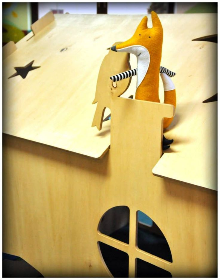 1domek i przyjaciele Handmade Ivi fot.Karolina Bielak nasza realizacja 1domku dla przedszkola wooden house design for children plywood house for kids play house exterior interior