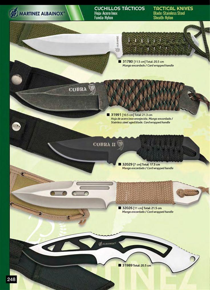 cuchillos tacticos y caza tacticos - CUCHILLOS TACTICOS - MARTINEZ ALBAINOX - Cuchilleria Albacete