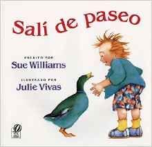 Este libro les ayudará a los estudiantes a reforzar nombres de colores y nombres de animals en español. Este libro cuenta la historia de un niño que sale de paseo y cuanta lo que vio. El niño cuenta que vio a un gato negro, un caballo marrón, una vaca roja, un pato verde, etc. Al final dice que todos los animales lo siguieron