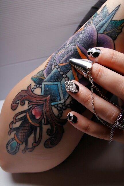 Nailring, Mani jewel and tatoo ❤❤ www.nailcandi.co.za