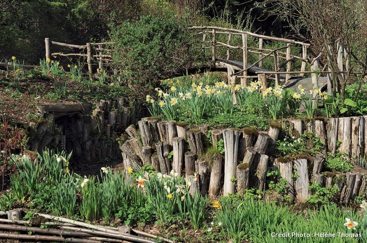 254 best images about jardin en pente sloping garden on for Ou trouver de la terre de jardin