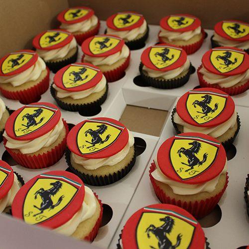 Ferrari Logo Cake Topper