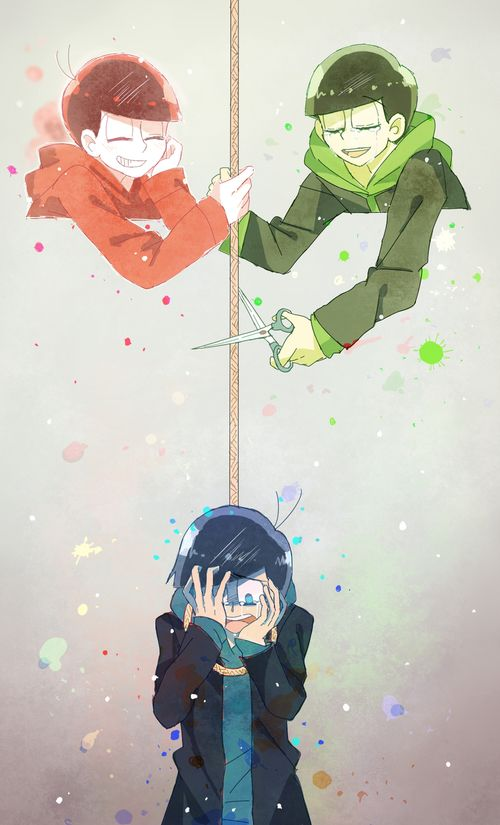 Imagen de anime, osomatsu-san, and osomatsu