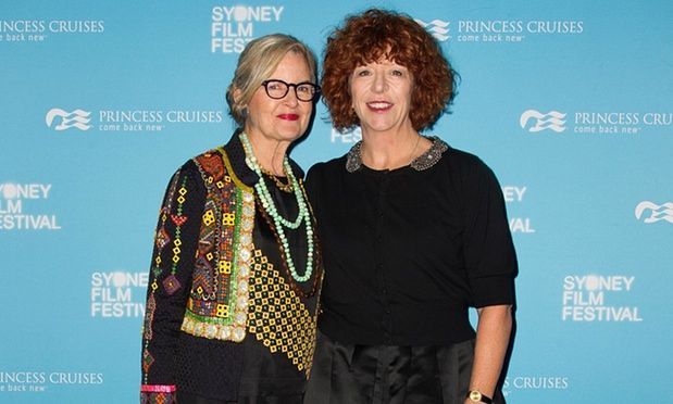 Another good article on Australian women in film. Pictured:  director Gillian Armstrong and writer Katherine Thomson at the premiere of their film Women He Undressed, as part of the Sydney film festival 2015