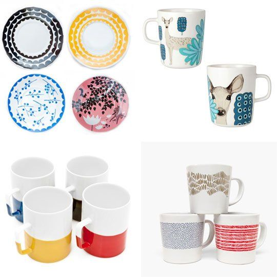 Modern Teacups, Mugs, and Saucers  Apartment Therapy