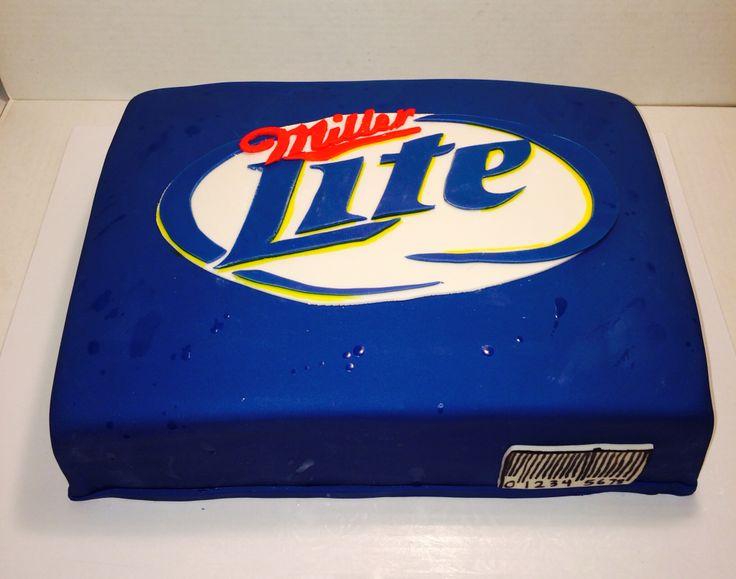 Miller Lite cake