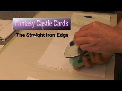 Fantasy Castle Cards 1 - Straight Iron Edge