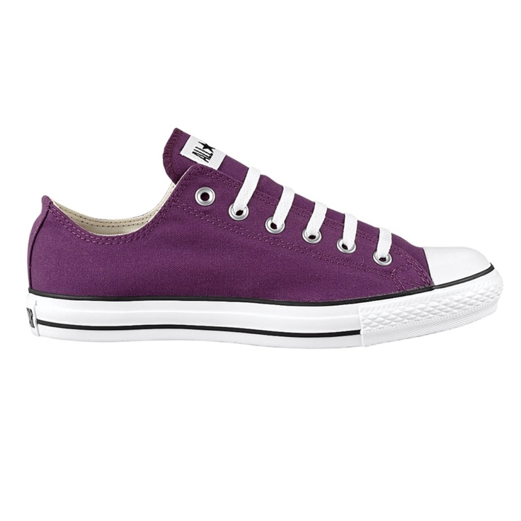 Converse All Star Lo Athletic Shoe - Plum