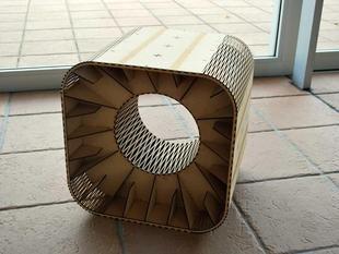 BoxStool(f.Labo) by HisashiIMAI - Thingiverse