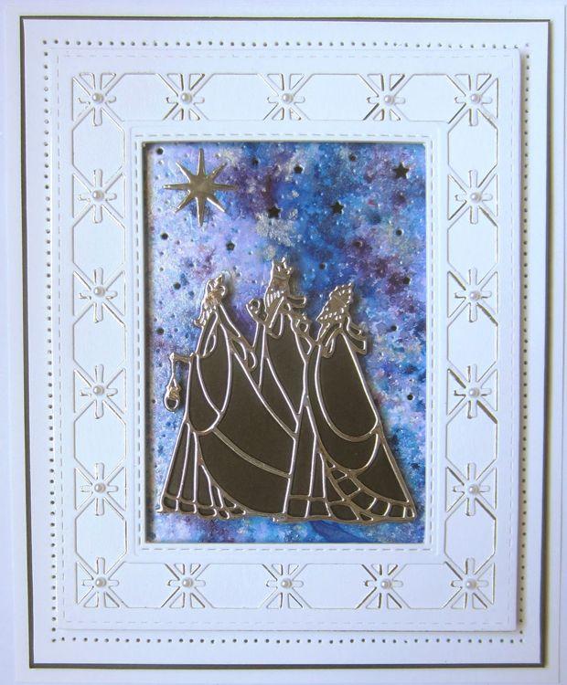 Sue Wilson Dies - Festive Collection Twinkle Star Frames