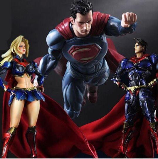 33.14$  Buy now - https://alitems.com/g/1e8d114494b01f4c715516525dc3e8/?i=5&ulp=https%3A%2F%2Fwww.aliexpress.com%2Fitem%2FSuperman-Action-Figure-Supergirl-Super-Woman-PVC-Figure-Toys-Anime-Super-Man-Supergirl-Playarts-Collectible-Model%2F32765706784.html - Superman Action Figure Supergirl Super Woman PVC Figure Toys Anime Super Man Supergirl Playarts  Collectible Model Doll 33.14$
