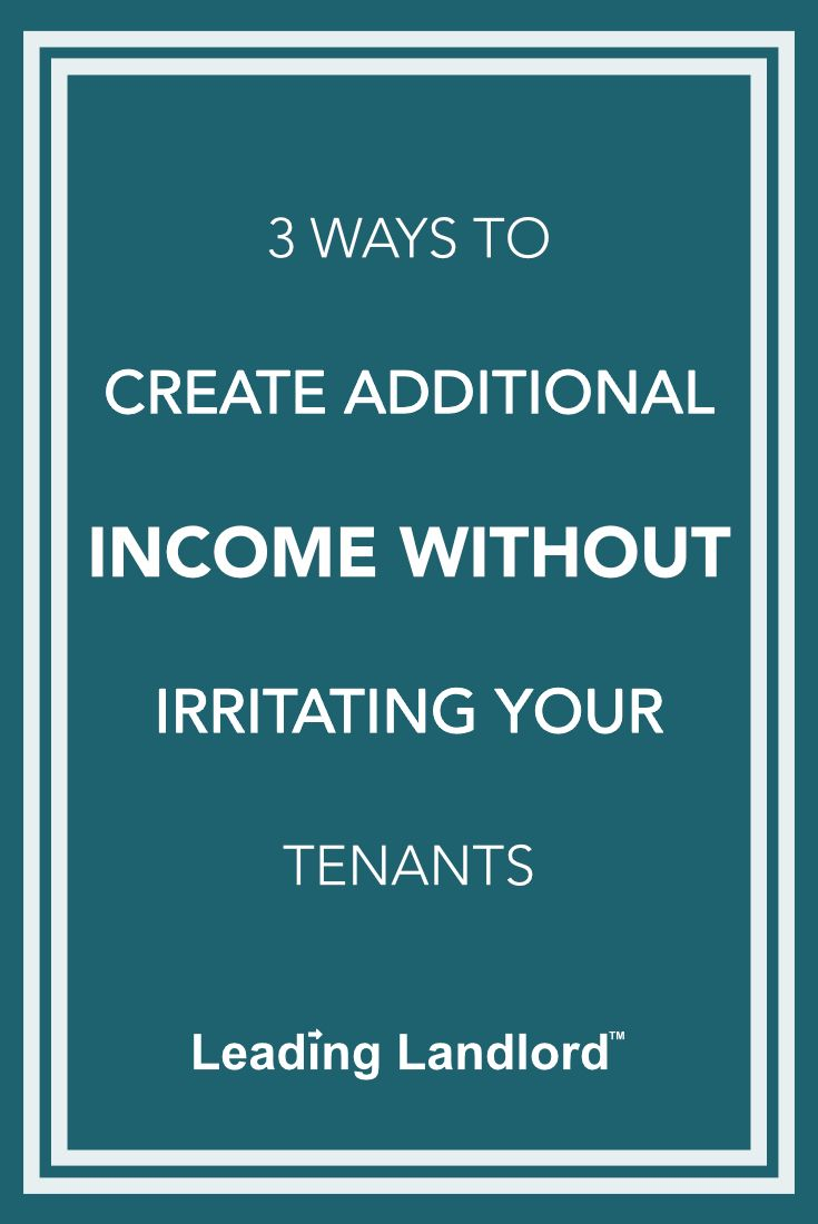 how to create more income