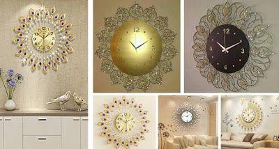 European Luxury Wall Clock Design Ideas