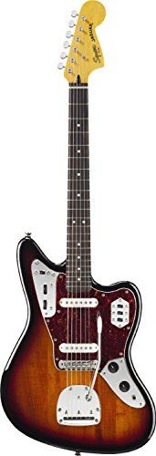 Squier by Fender Vintage Modified Jaguar Electric Guitar, Rosewood Fingerboard, 3-Tone Sunburst Fender http://www.amazon.com/dp/B008JZ7GIW/ref=cm_sw_r_pi_dp_j4f7tb1SATC4N