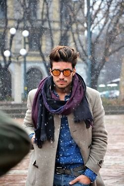 man scarves are perfection menswear fashion