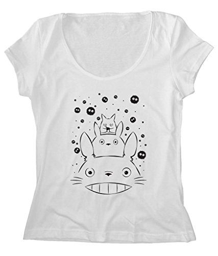 Women's Scoop Neck Funny Totoro And Friends_FREE SHIP_LOW PRICE_100%Cotton http://www.amazon.com/dp/B016K5K07Q/ref=cm_sw_r_pi_dp_TJDfxb1R9PGF8