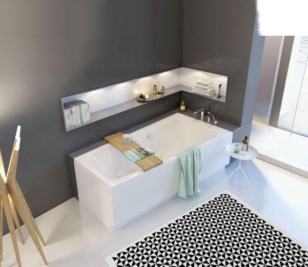 SPLIT, akrylowa, dopasujemy do niej panele boczne, przednie i wygodny zagłówek, KOŁO. #lazienka #toaleta #inspiracje #wnetrza #dom #kran #słuchawka #łazienki #kabina #wanna #mieszkanie #willa #projektowanie #architektura #design #interior #bath #shower #bathroom #inspiration #ideas #white #modern #2018 #glamour #style
