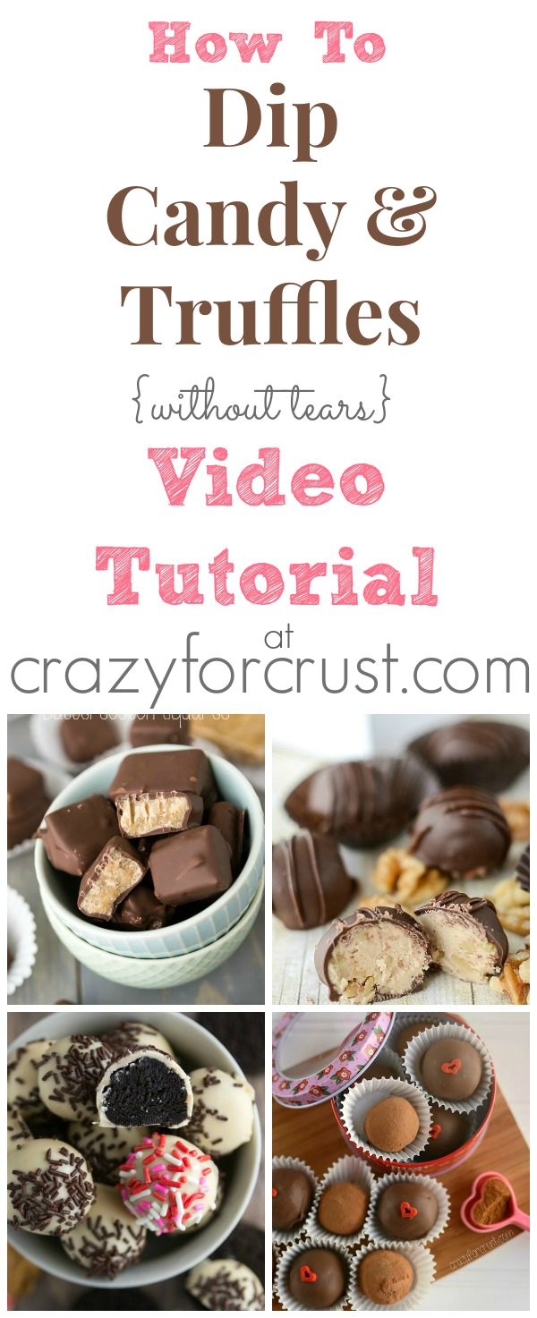 Candy and Truffles Video Tutorial