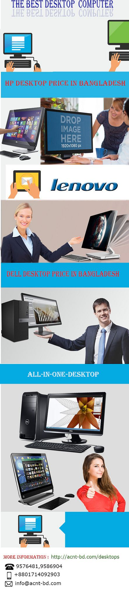 https://flic.kr/p/SxcU7t | Brand Desktop PC in Bangladesh | Desktop Computer Price in Bangladesh | Get the best Brand desktop pc in Bangladesh at Acnt bd. Buy your desired desktop computer pc from our showroom and online store.
