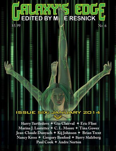 """Intersection"" Galaxy's Edge Magazine #6 January 2014  http://www.galaxysedge.com/jarch.htm"