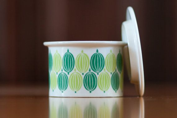 Arabia Finland Jam Jar or Pot 1969 by Ulla Procope on Etsy, $54.12 AUD