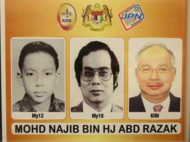 Evolusi wajah Najib cuit hati rakyat   Perdana Menteri Datuk Seri Najib Tun Razak dalam satu perkongsian di laman sosial miliknya berkongsi tiga perubahan wajahnya dalam satu kad.  Evolusi wajah Najib  Berkongsi di Facebook dan laman mikro Twitter rasminya Najib berkata paparan evolusi wajahnya itu adalah hadiah yang diterimanya daripada Jabatan Pendaftaran Negara (JPN).  Evolusi saya dilihat dari kad pengenalan. Kemerosotan dan pemutihan rambut yang ketara. Hadiah daripada Jabatan…