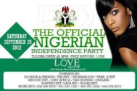 Nigerian Independence Day Celebration