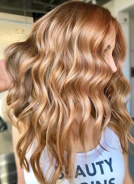 Are you looking for best styles of long hairstyles and hair colors? Although there are so many options of hair colors and haircuts for long hair but the beauty of golden hair colors is really really amazing for every woman to try in year 2018.